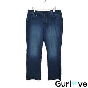 NYDJ 18P Dark Wash Bootcut Jeans